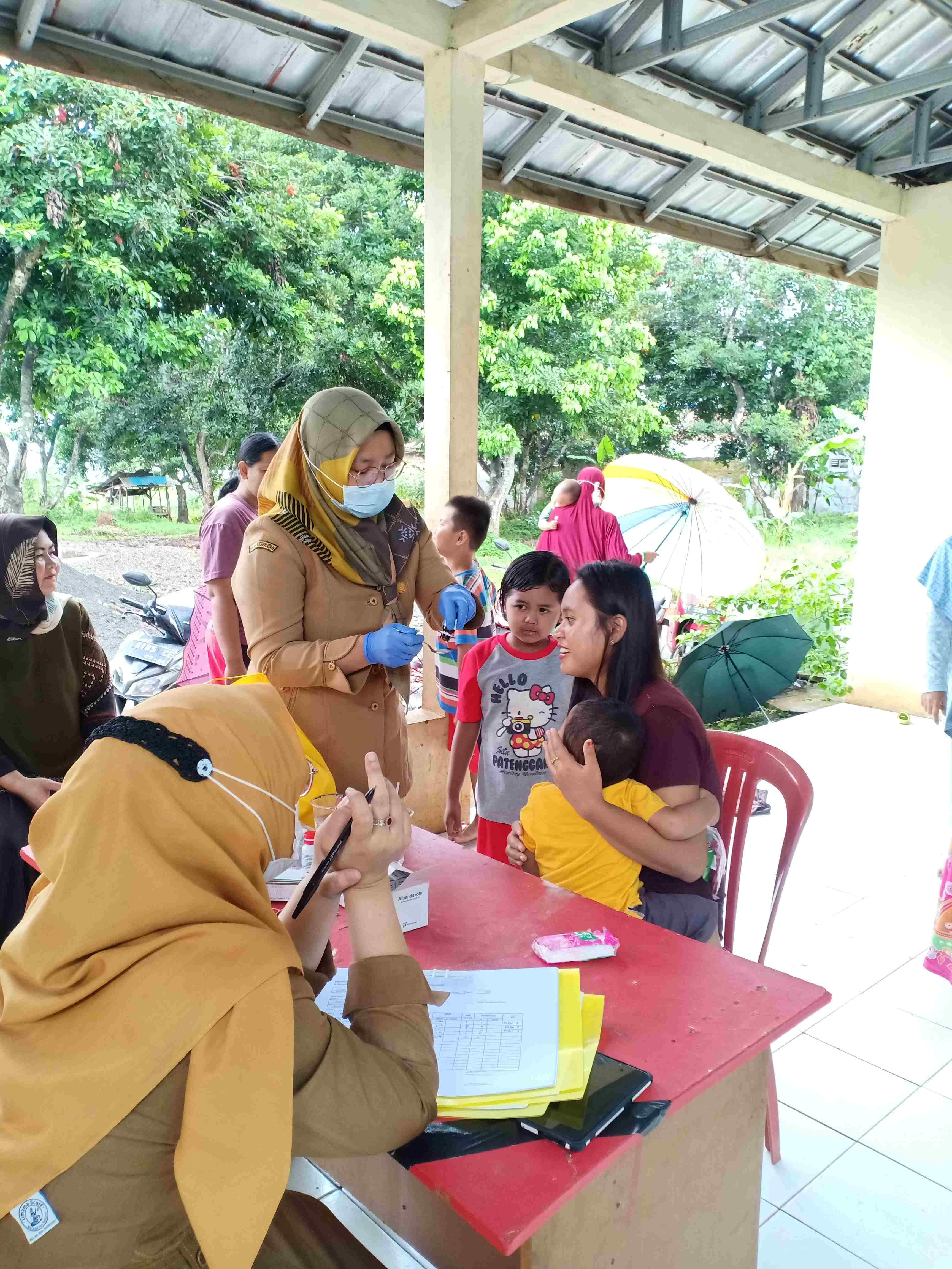Bulan Pemberian Vitamin A dan Obat Cacing untuk Balita